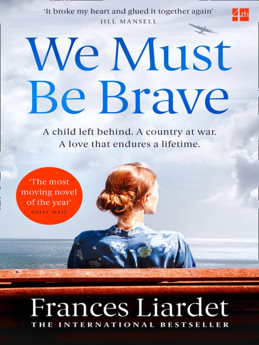 Frances Liardet: We must be brave