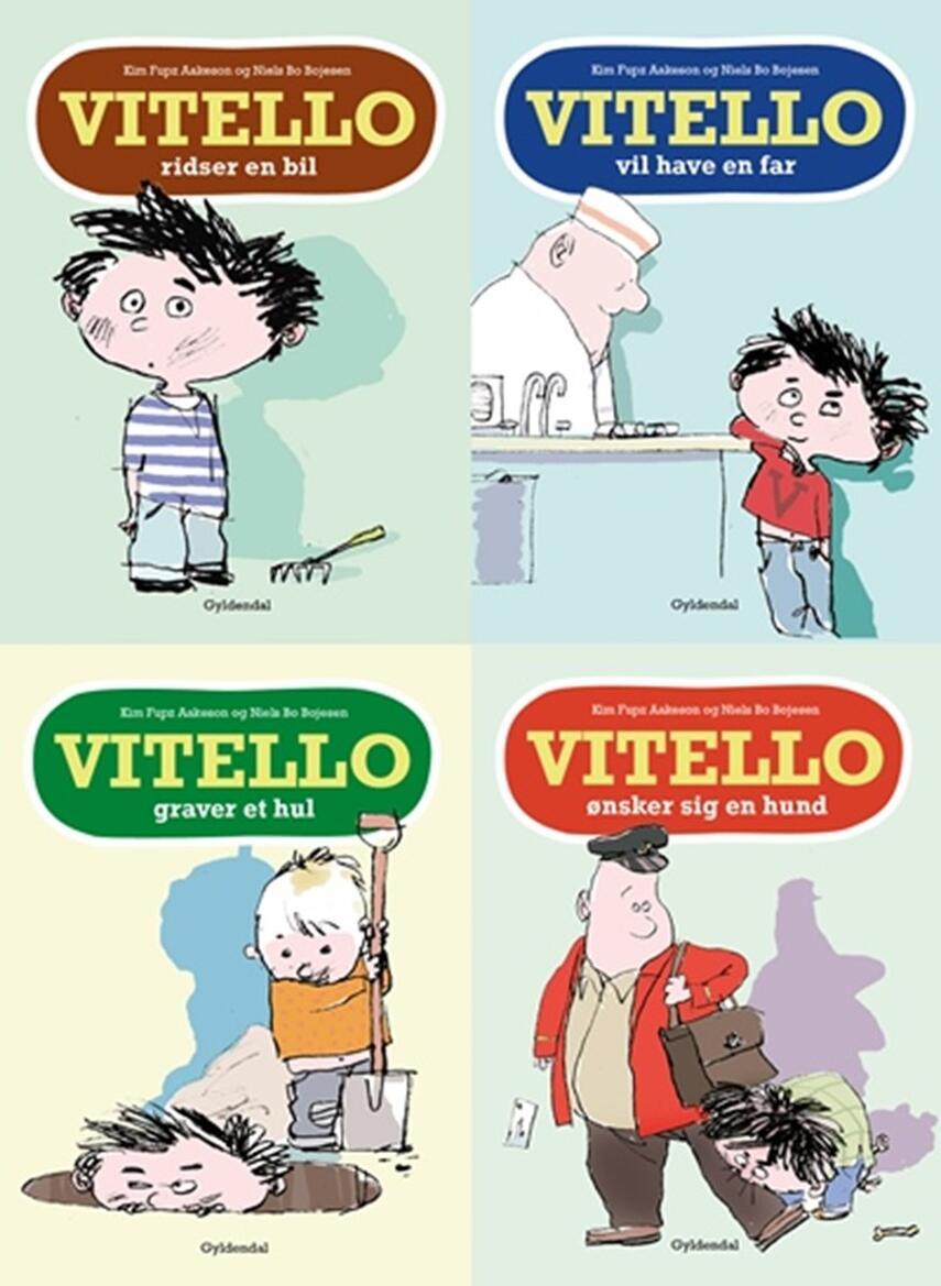 Kim Fupz Aakeson: Fire historier om drengen Vitello