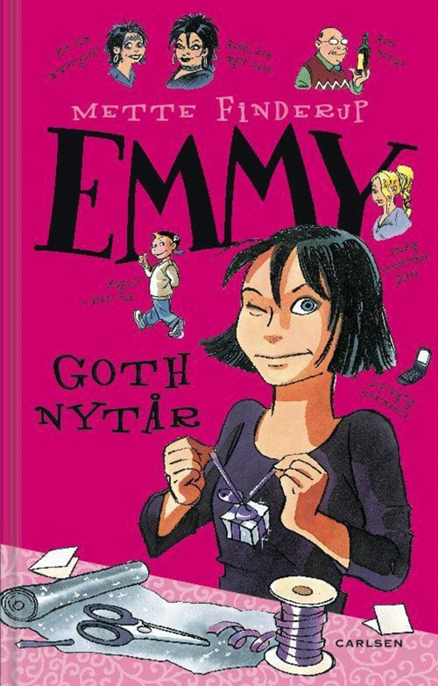 Mette Finderup: Emmy - goth nytår