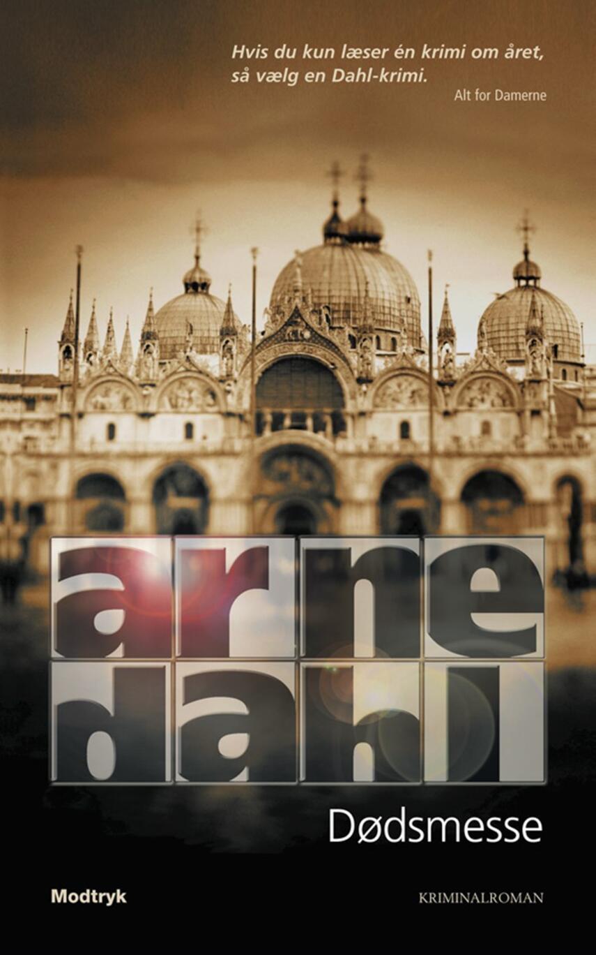 Arne Dahl (f. 1963): Dødsmesse : kriminalroman