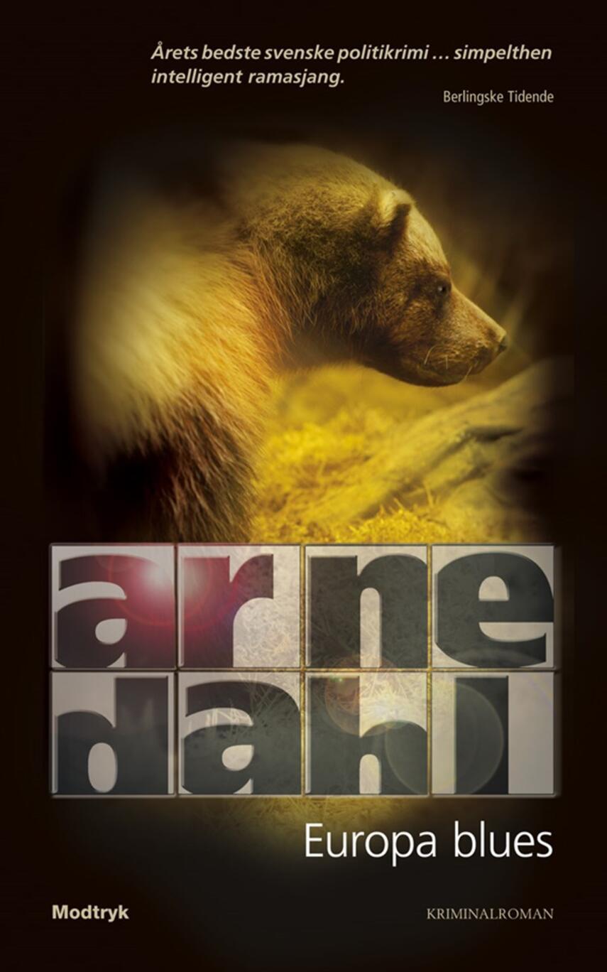 Arne Dahl (f. 1963): Europa blues : kriminalroman