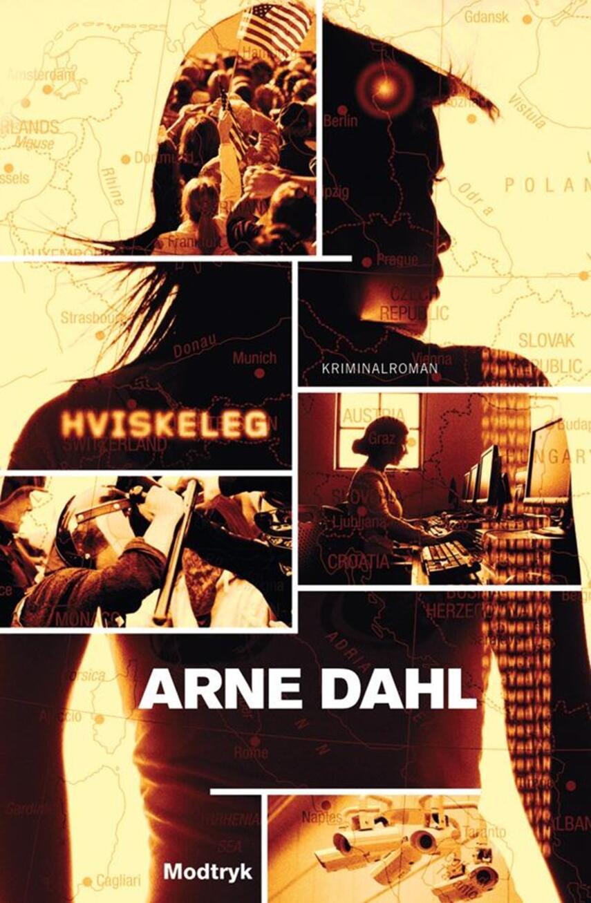 Arne Dahl (f. 1963): Hviskeleg : kriminalroman