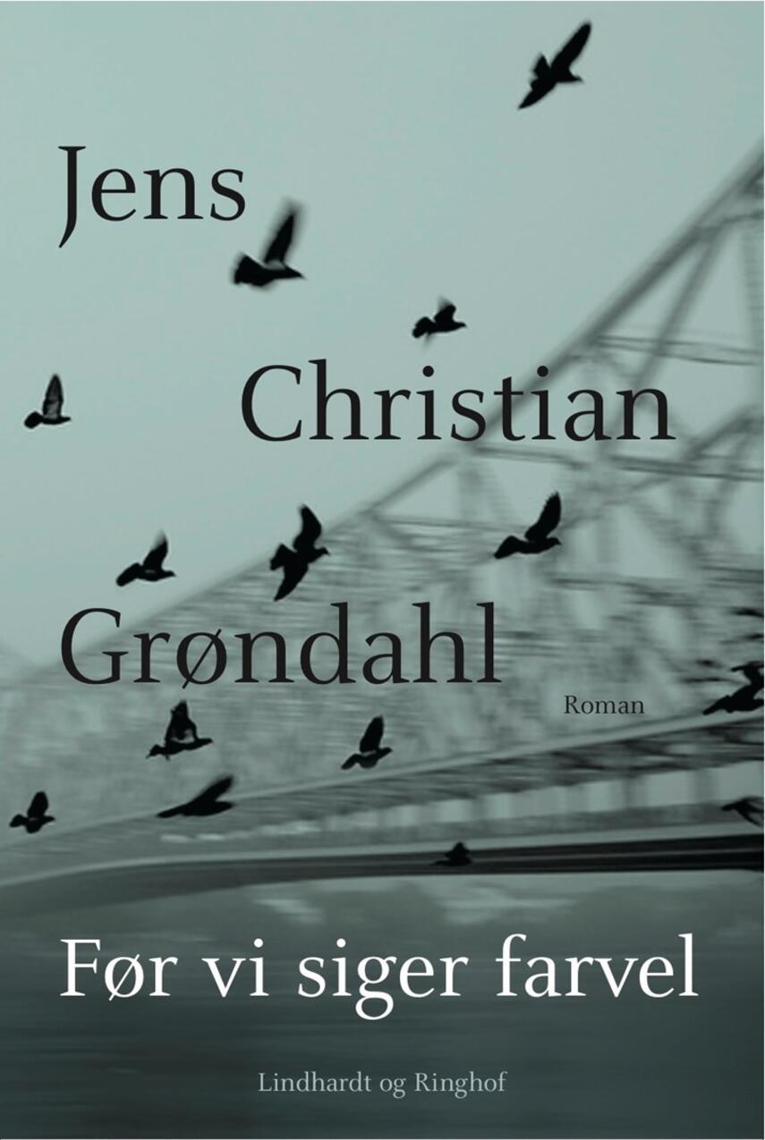 Jens Christian Grøndahl: Før vi siger farvel : roman