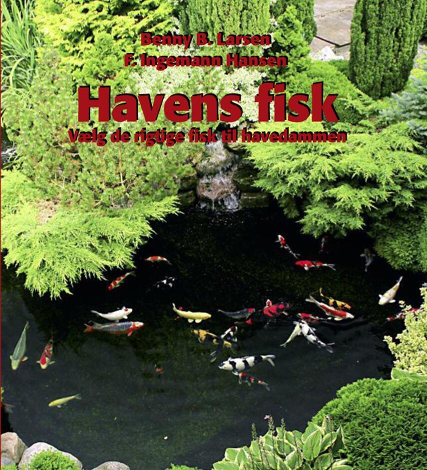 Benny B. Larsen, F. Ingemann Hansen: Havens fisk : vælg de rigtige fisk til havedammen