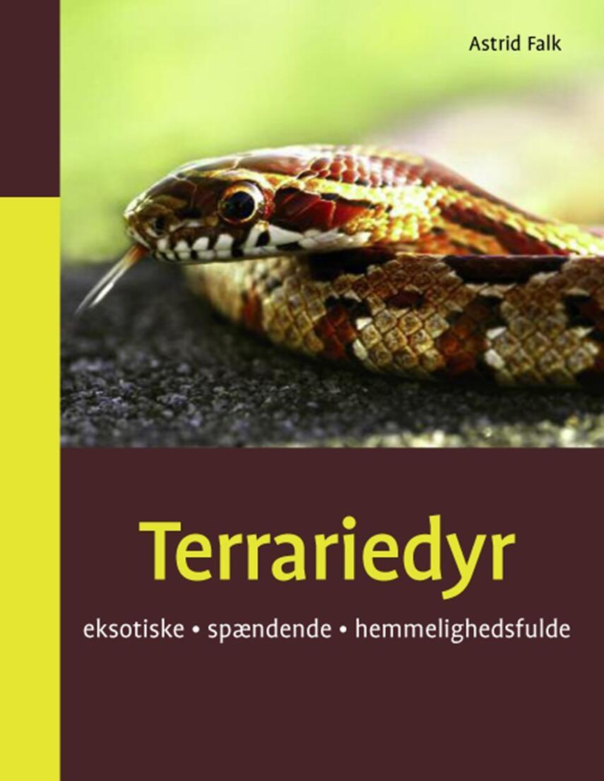 Astrid Falk: Terrariedyr : eksotiske, spændende, hemmelighedsfulde