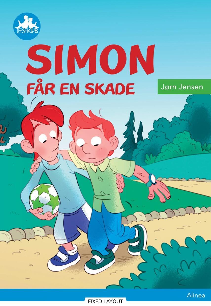 Jørn Jensen (f. 1946): Simon får en skade