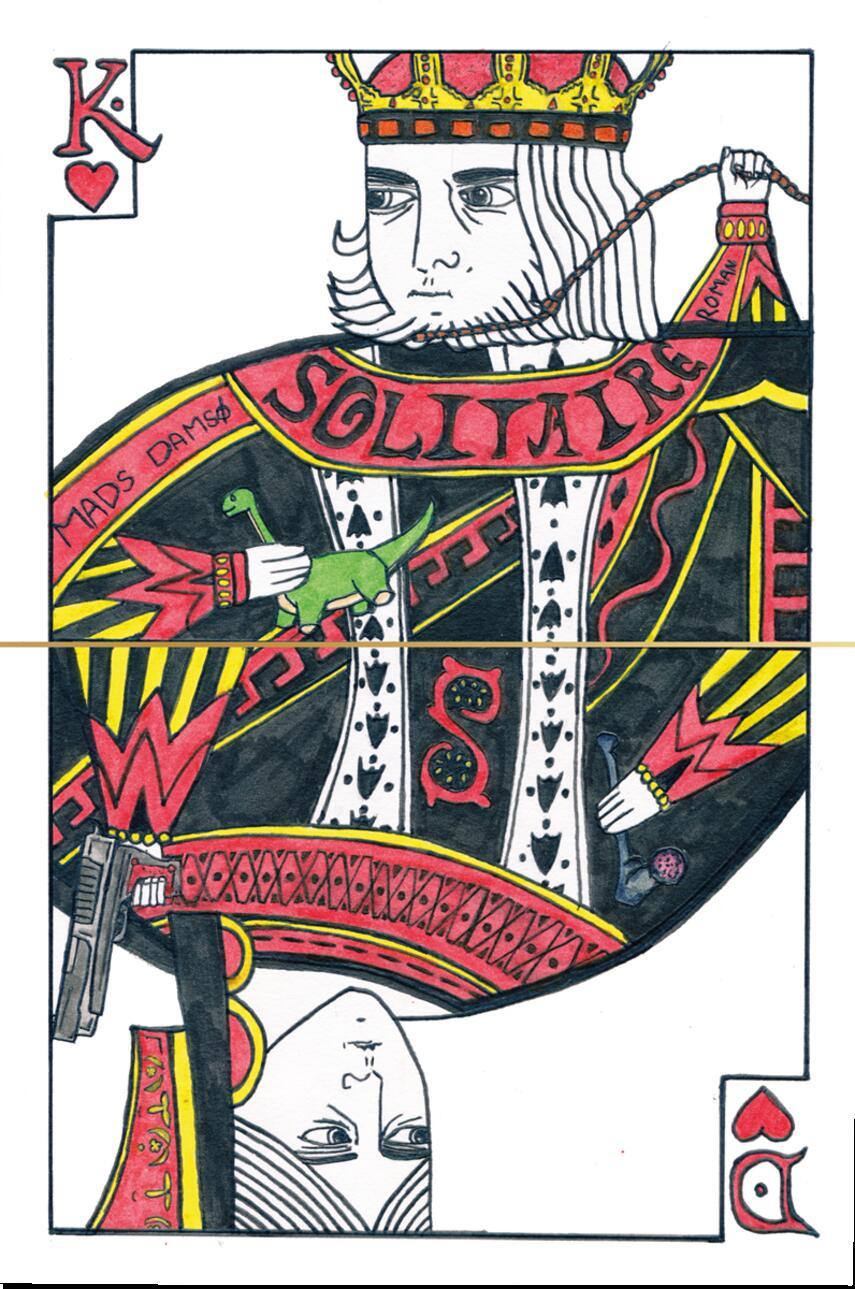 Mads Damsø (f. 1988): Solitaire : roman