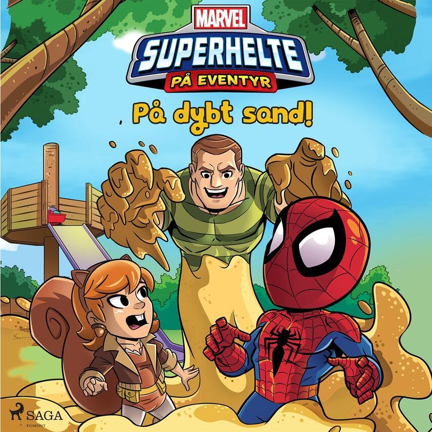 : Marvel - Superhelte på eventyr - På dybt sand!
