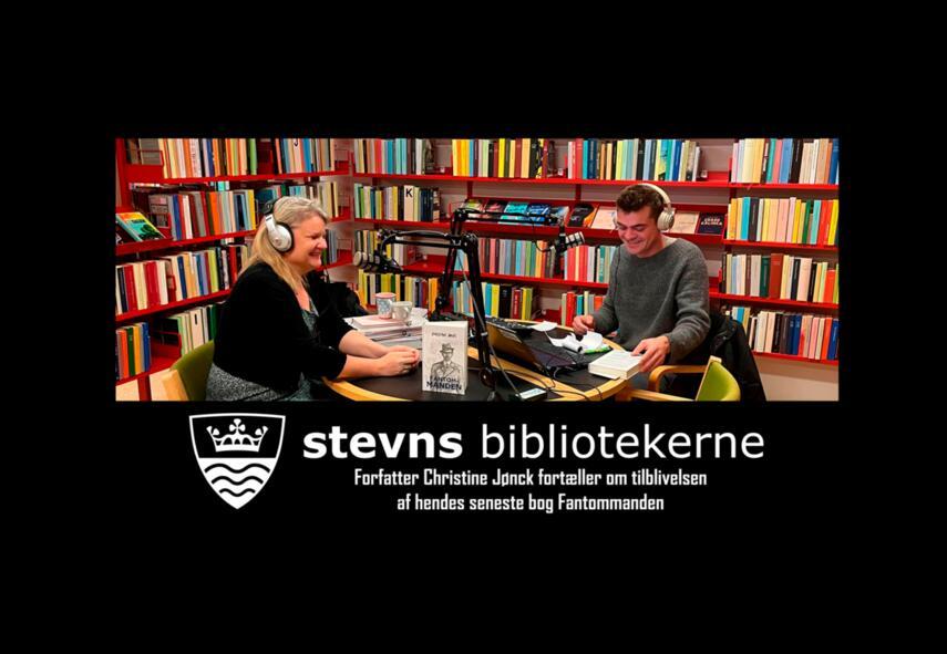 Nikolaj Andersen (f. 1985-02-24): Bogen der ikke måtte skrives : Christine Jønck fortæller om tilblivelsen bogen Fantommanden