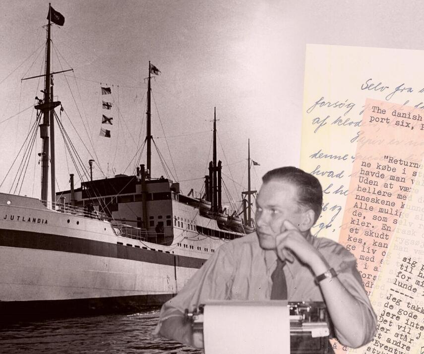 Axel Boisen: Jutlandia - kaldet til slaget. 6, Sekstenårig sygeplejerske