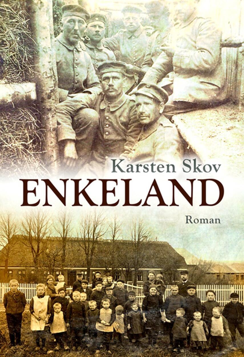 Karsten Skov: Enkeland : roman