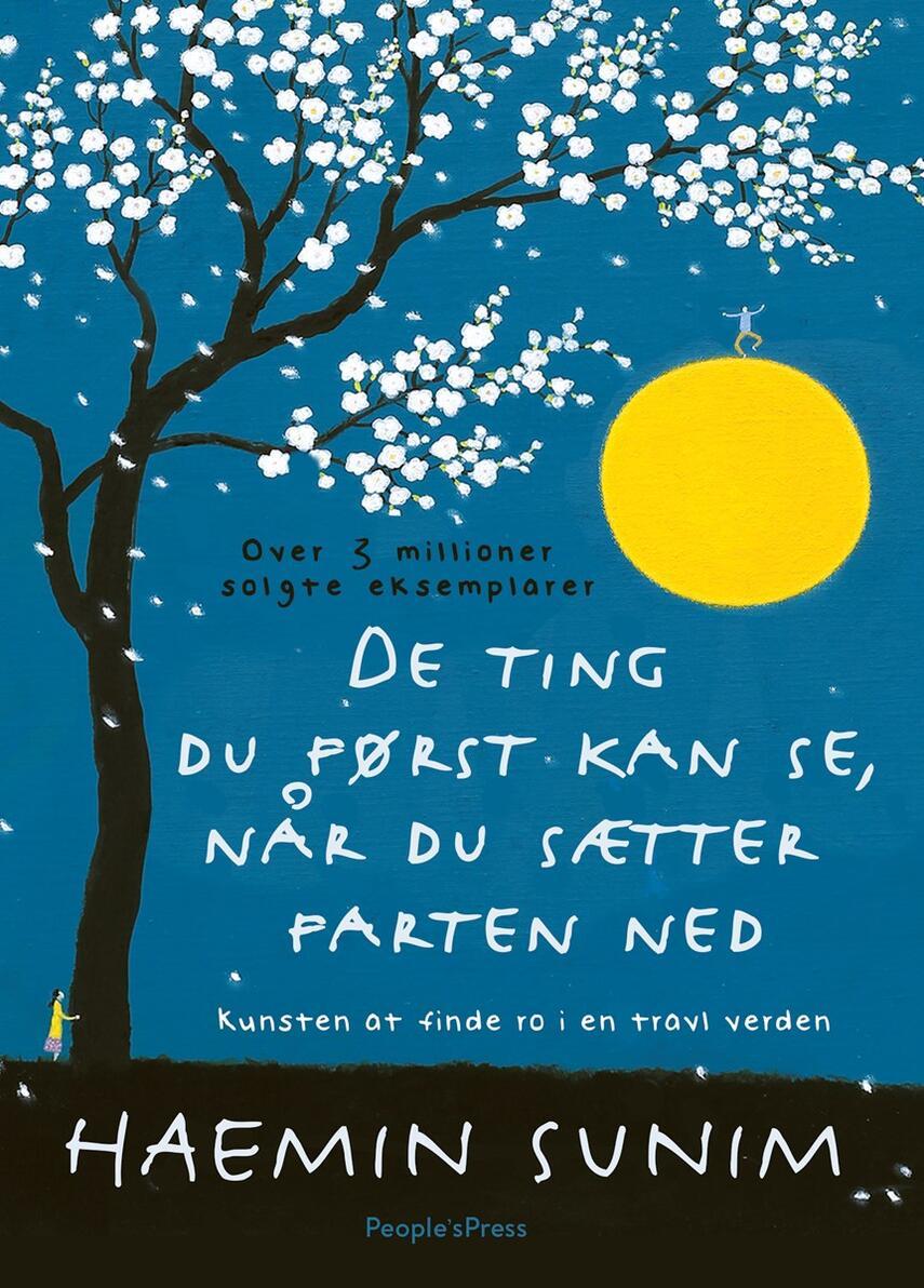 Haemin Sunim: De ting du først kan se, når du sætter farten ned : kunsten at finde ro i en travl verden