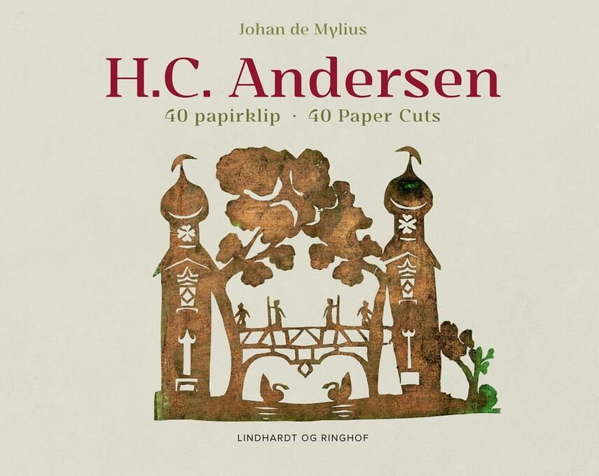 Johan E. de Mylius: H.C. Andersen - 40 papirklip
