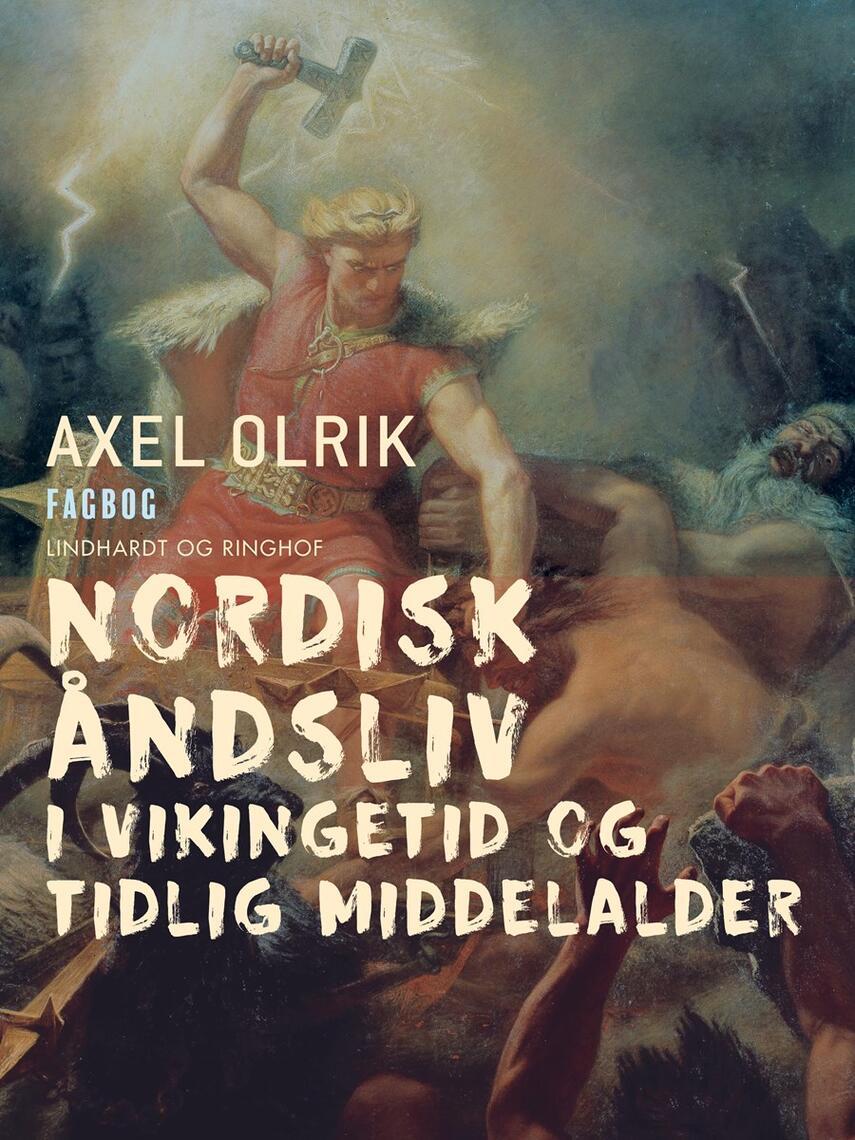 : Nordisk åndsliv i vikingetid og tidlig middelalder
