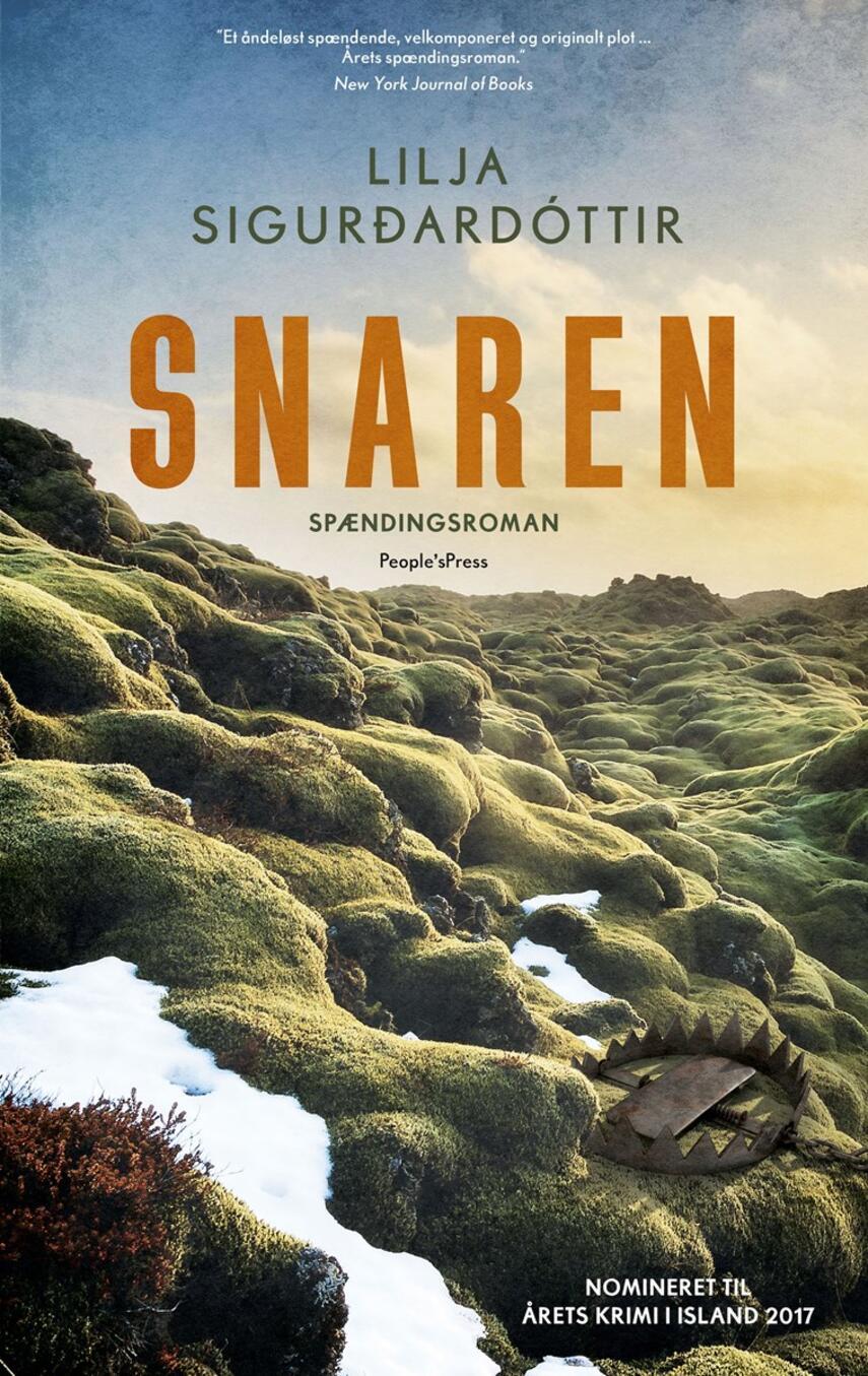 Lilja Sigurðardóttir (f. 1972): Snaren : spændingsroman