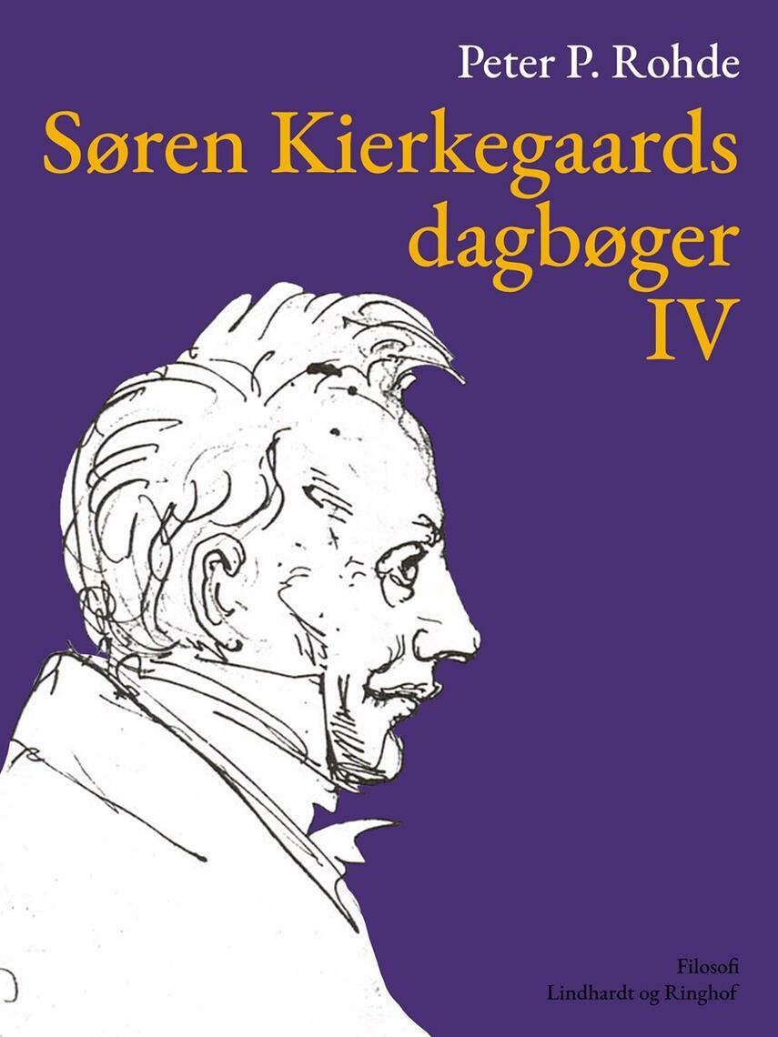 : Søren Kierkegaards dagbøger IV