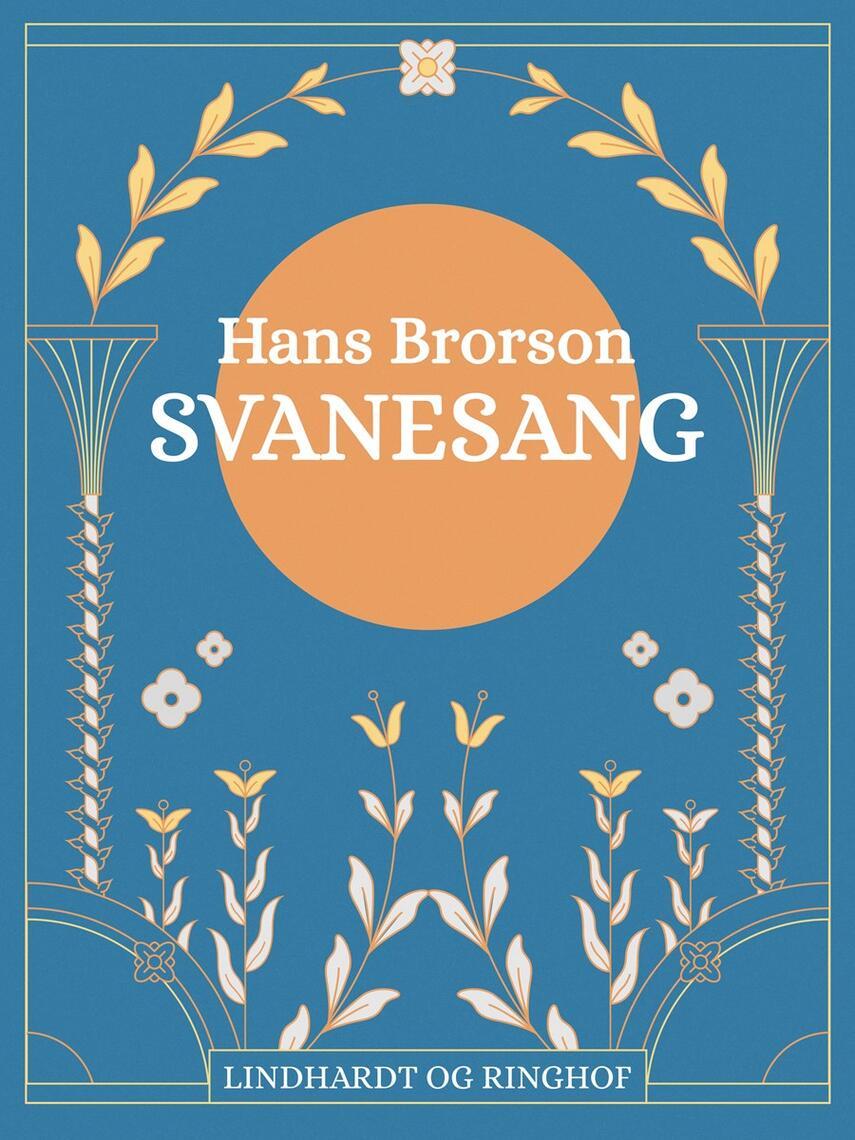 Hans Adolph Brorson: Svanesang
