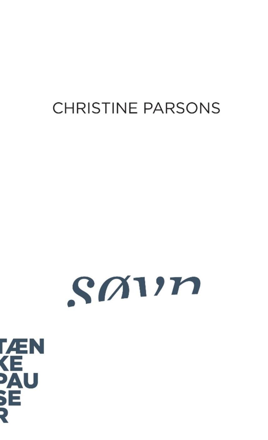 Christine Parsons: Søvn