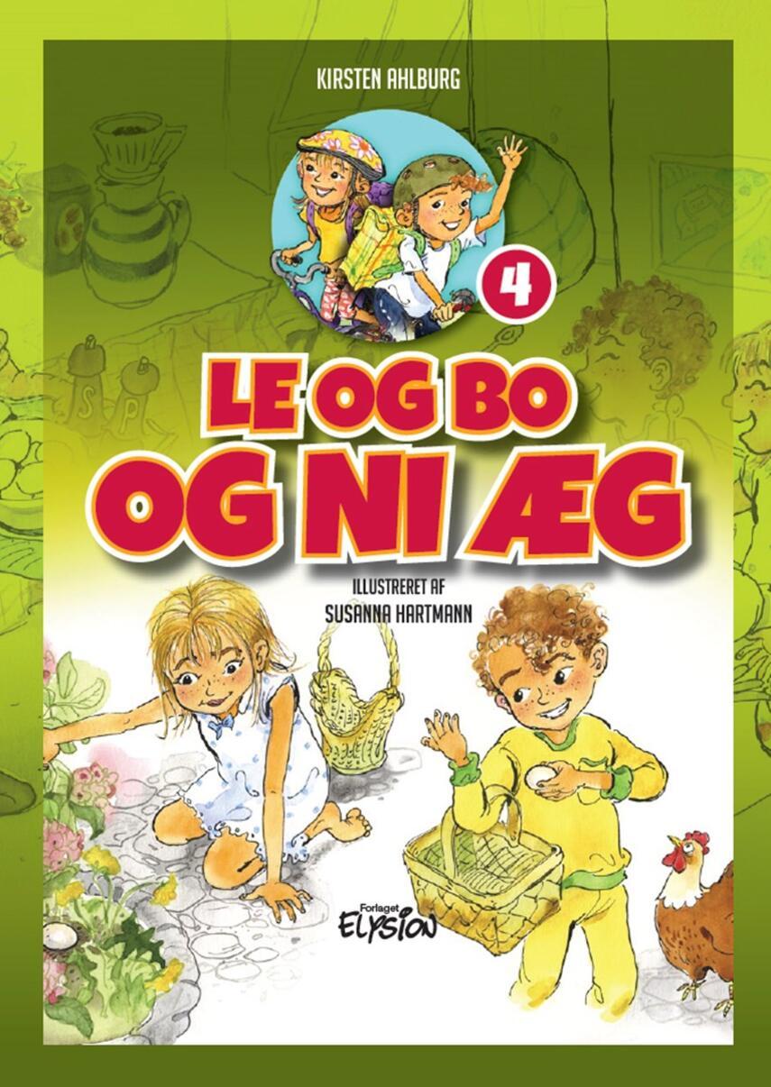 Kirsten Ahlburg: Le og Bo og ni æg