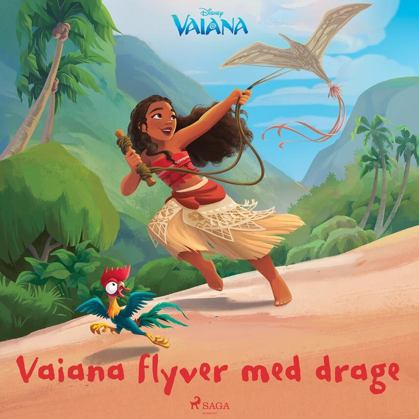 : Vaiana flyver med drage