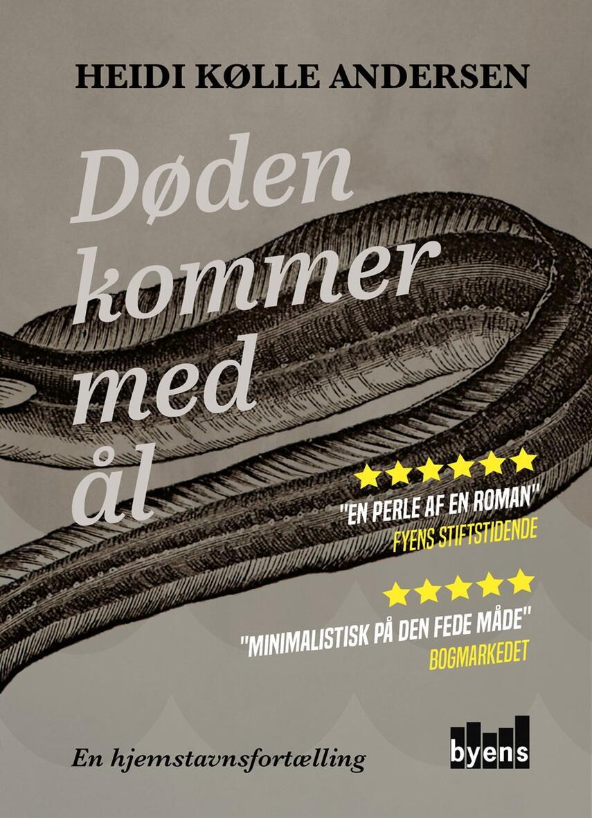 Heidi Kølle Andersen (f. 1974): Døden kommer med ål : en hjemstavnsfortælling