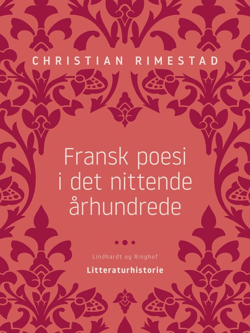 : Fransk poesi i det nittende århundrede