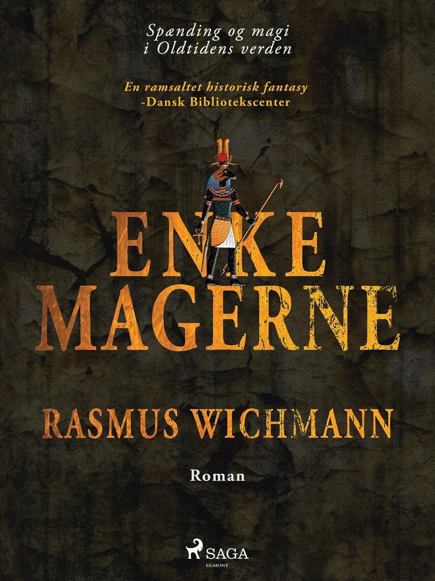 Rasmus Wichmann: Enkemagerne : roman