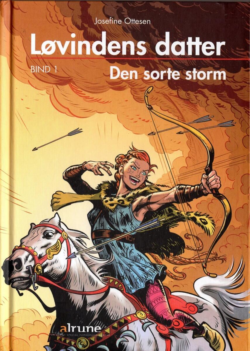 Josefine Ottesen: Den sorte storm (Ved Josefine Ottesen)