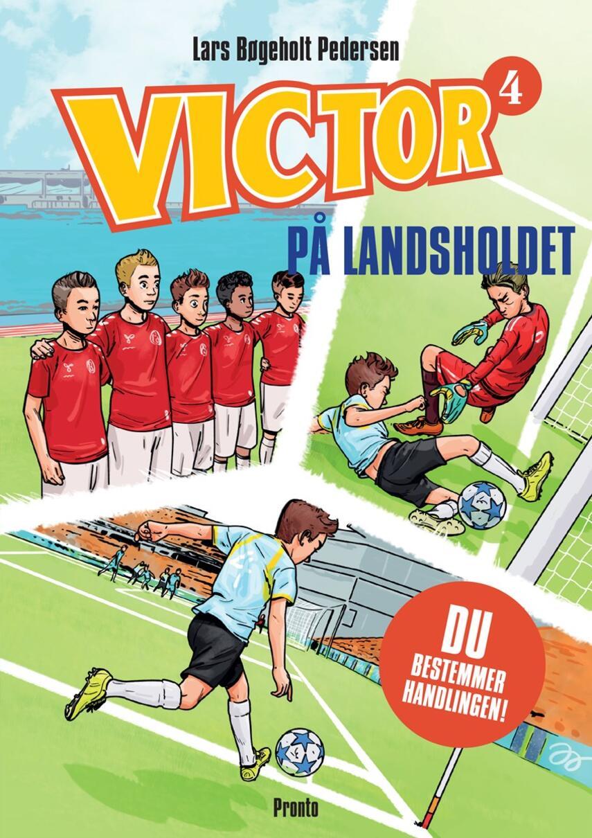 Lars Bøgeholt Pedersen: På landsholdet