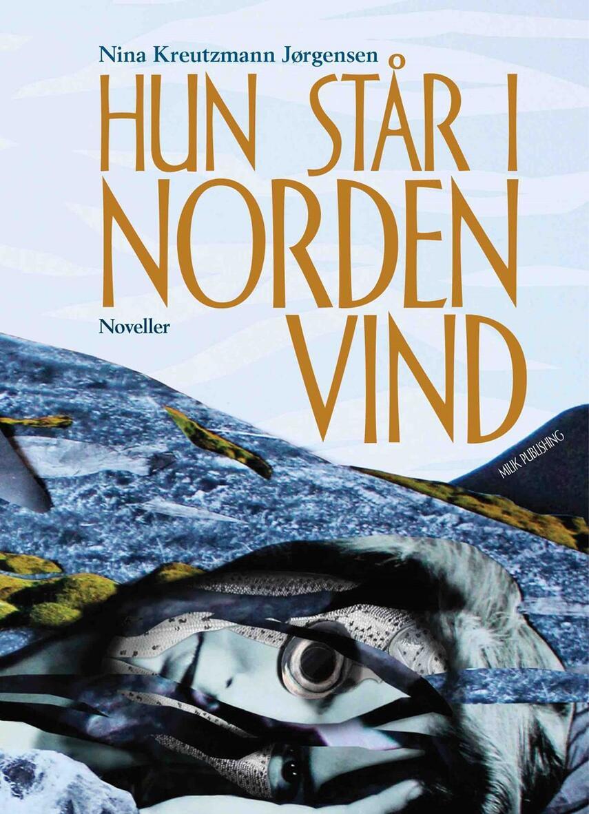 Nina Kreutzmann Jørgensen: Hun står i nordenvind : noveller