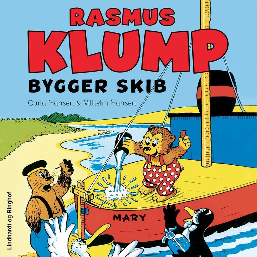 Carla Hansen (f. 1906): Rasmus Klump bygger skib