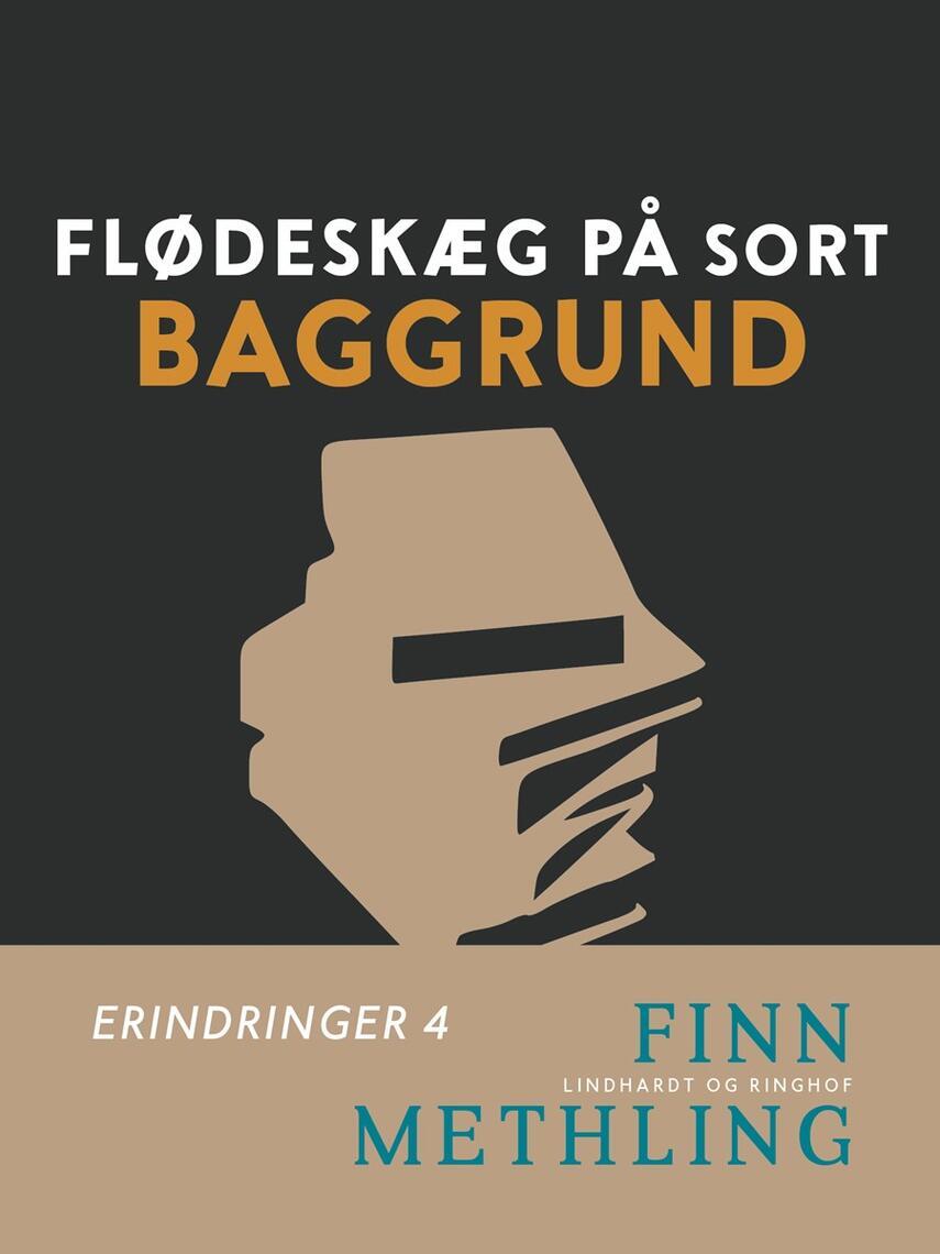Finn Methling: Flødeskæg på sort baggrund