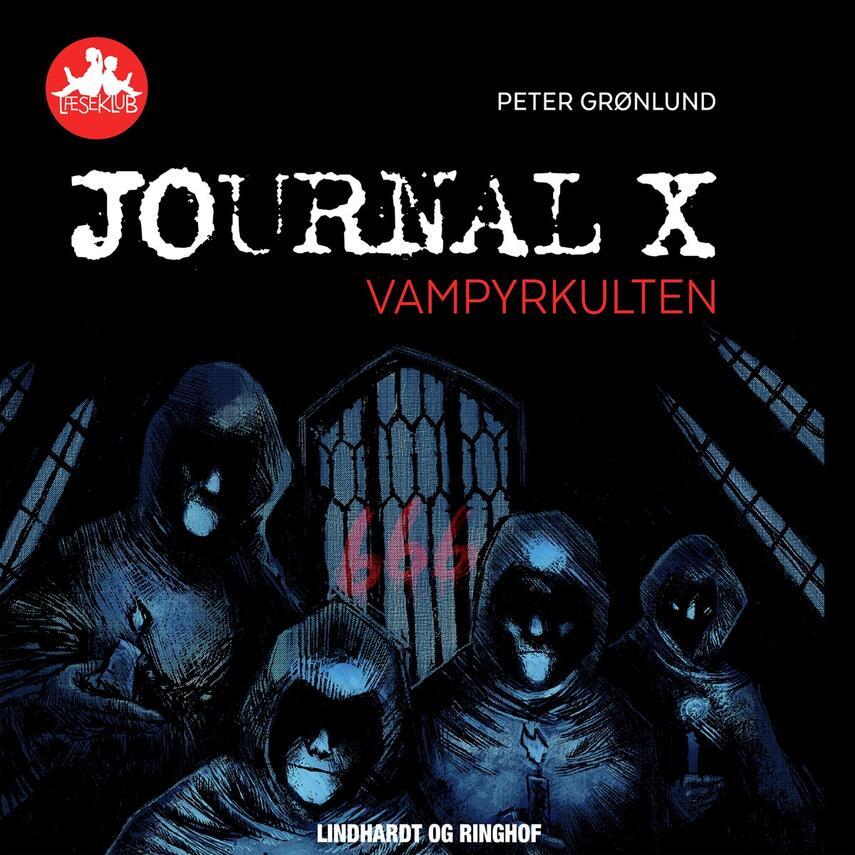 Peter Grønlund (f. 1970-04-11): Journal X - vampyrkulten