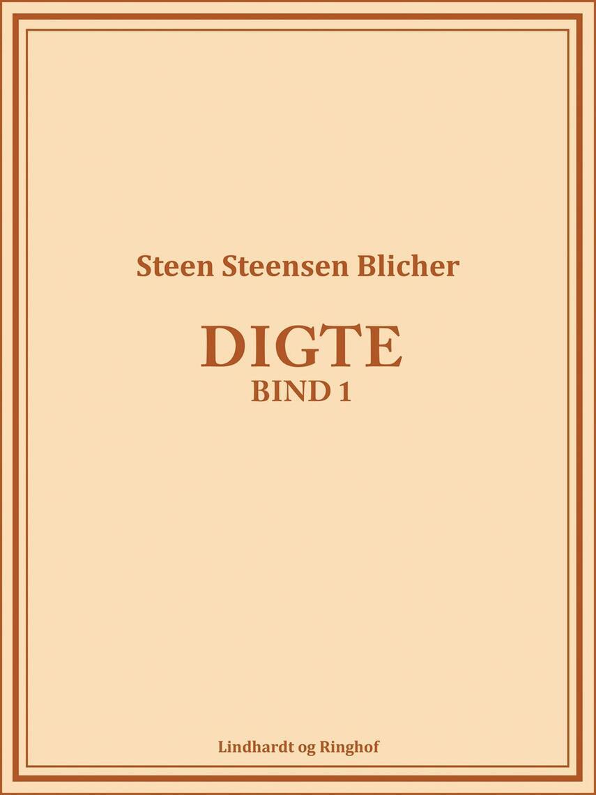 : Digte (bind 1)