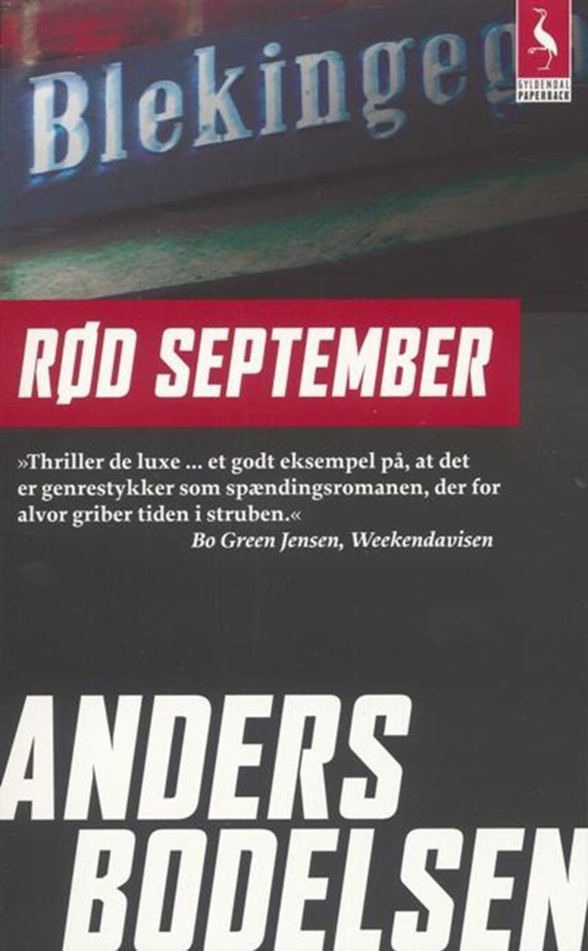 Anders Bodelsen: Rød september