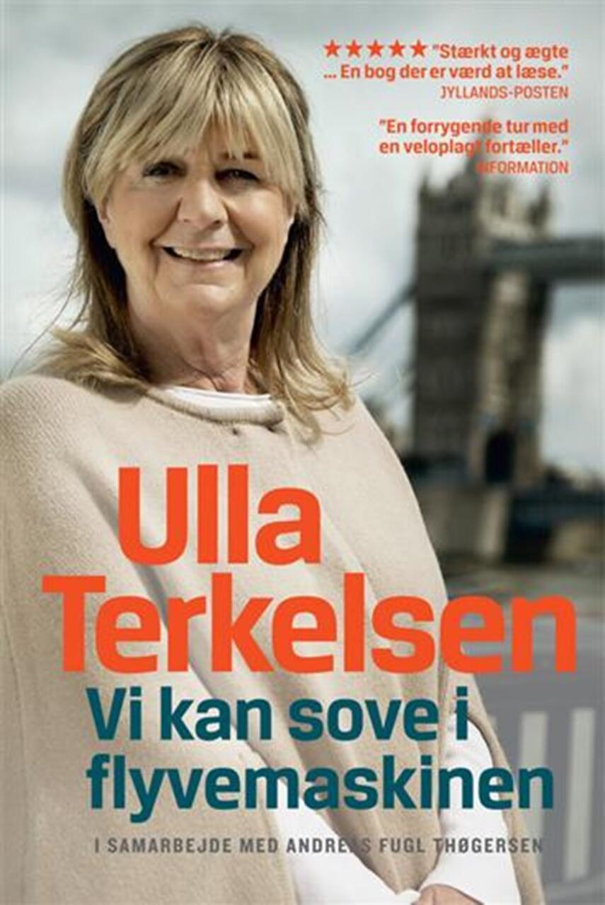 Ulla Terkelsen, Andreas Fugl Thøgersen: Vi kan sove i flyvemaskinen