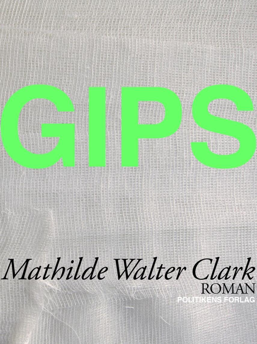 Mathilde Walter Clark: Gips : roman