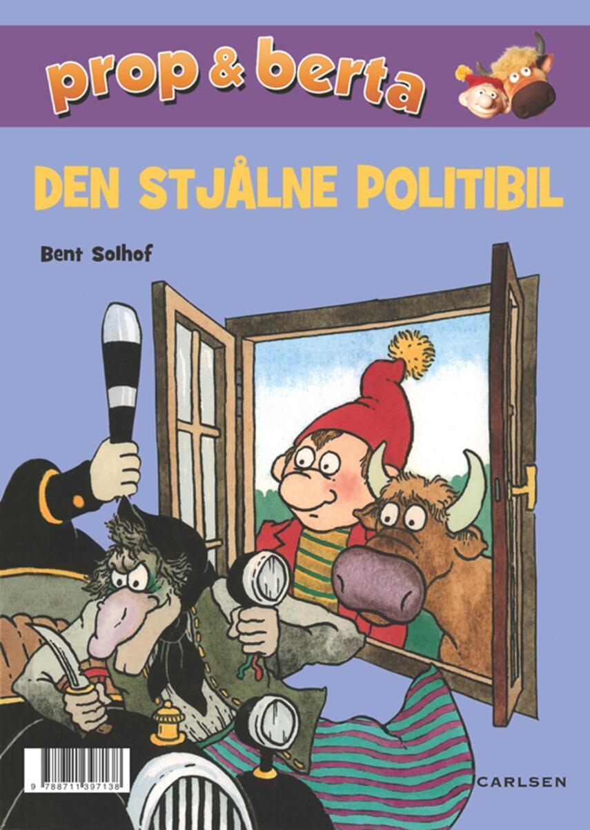 Bent Solhof: Den stjålne politibil