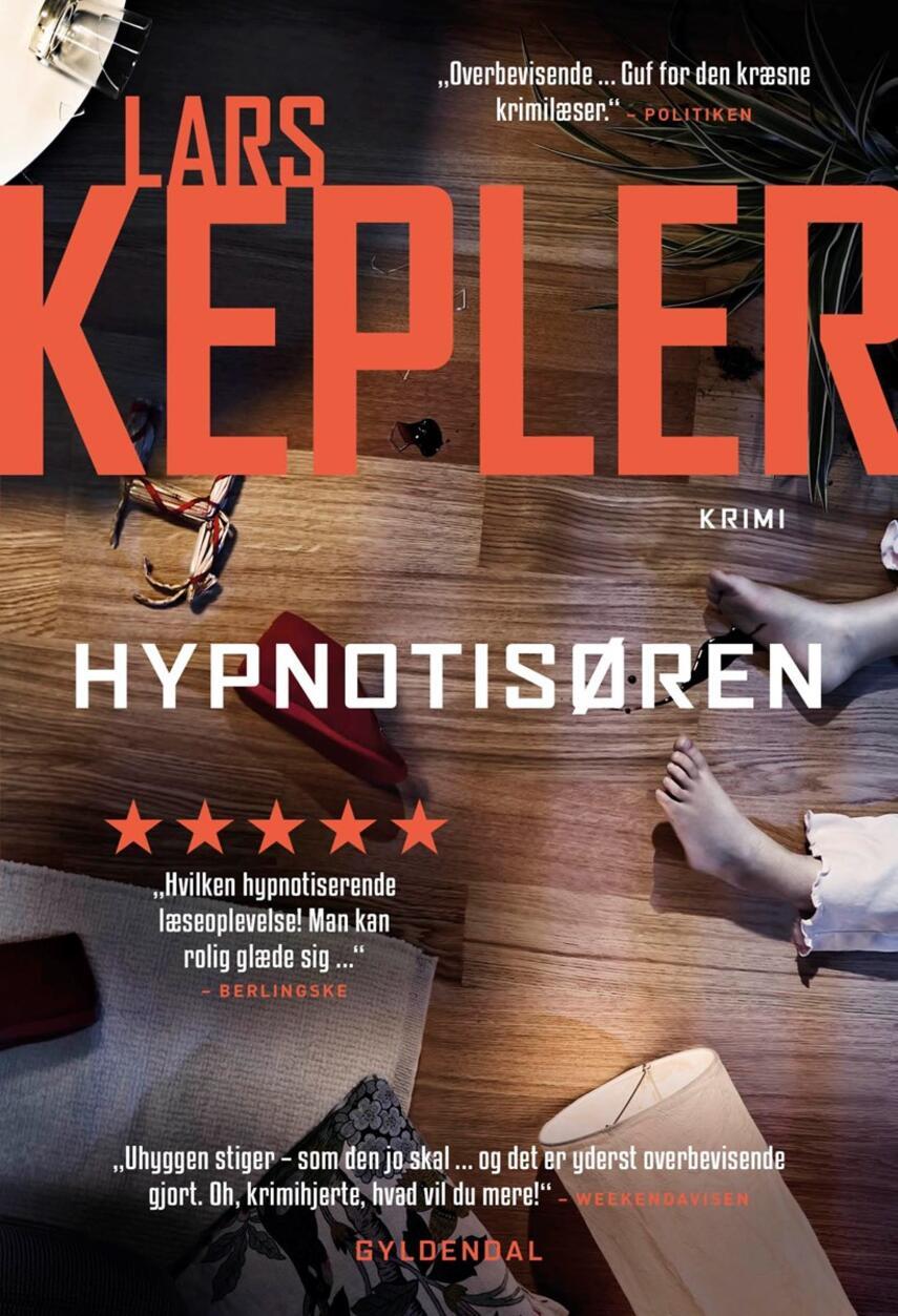Lars Kepler: Hypnotisøren : krimi