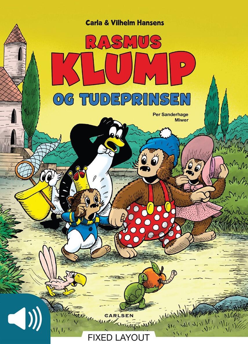Per Sanderhage: Rasmus Klump og tudeprinsen