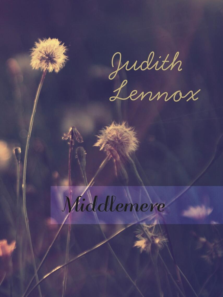 Judith Lennox: Middlemere