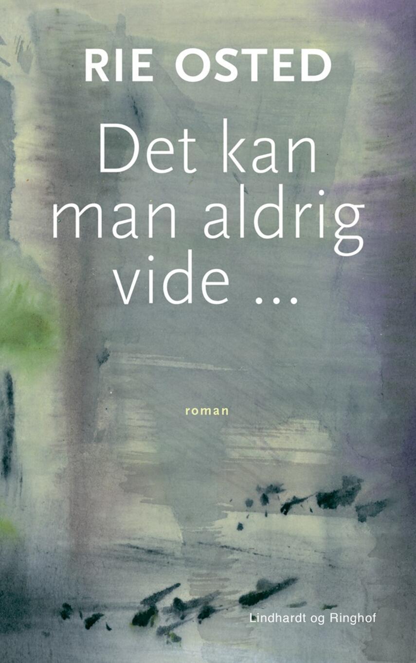 Rie Osted: Det kan man aldrig vide : roman
