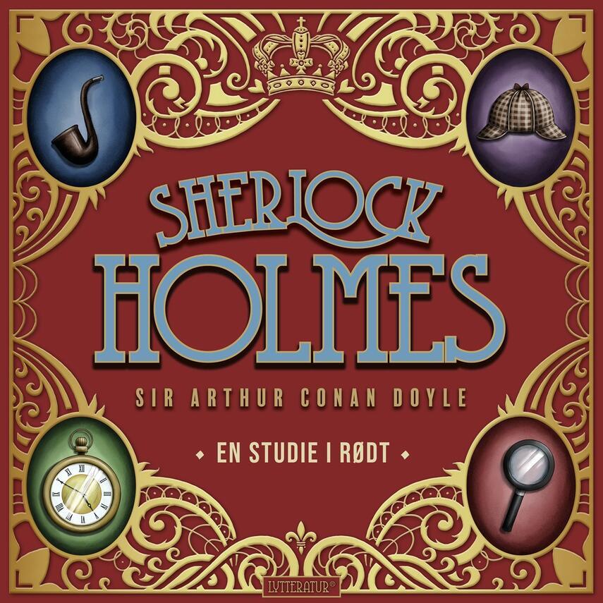 A. Conan Doyle: En studie i rødt (Ved Verner seeman)