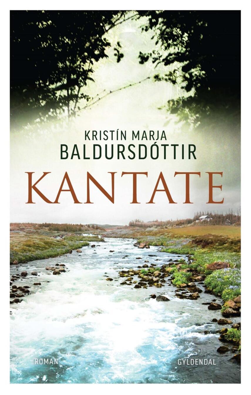 Kristín Marja Baldursdóttir: Kantate : roman