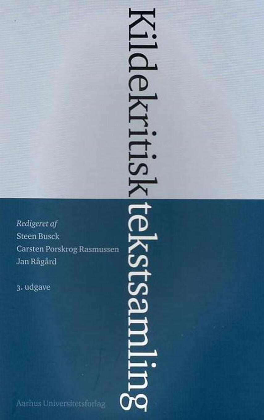 : Kildekritisk tekstsamling