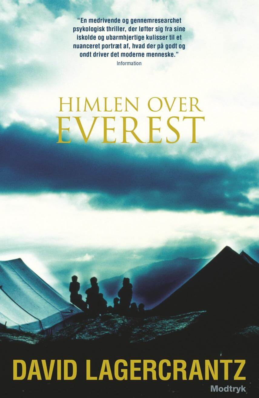 David Lagercrantz: Himlen over Everest