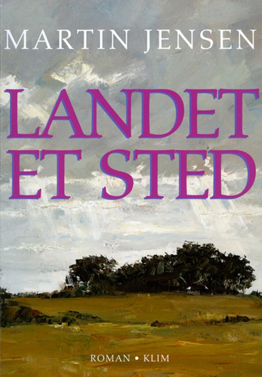 Martin Jensen (f. 1946): Landet et sted : roman