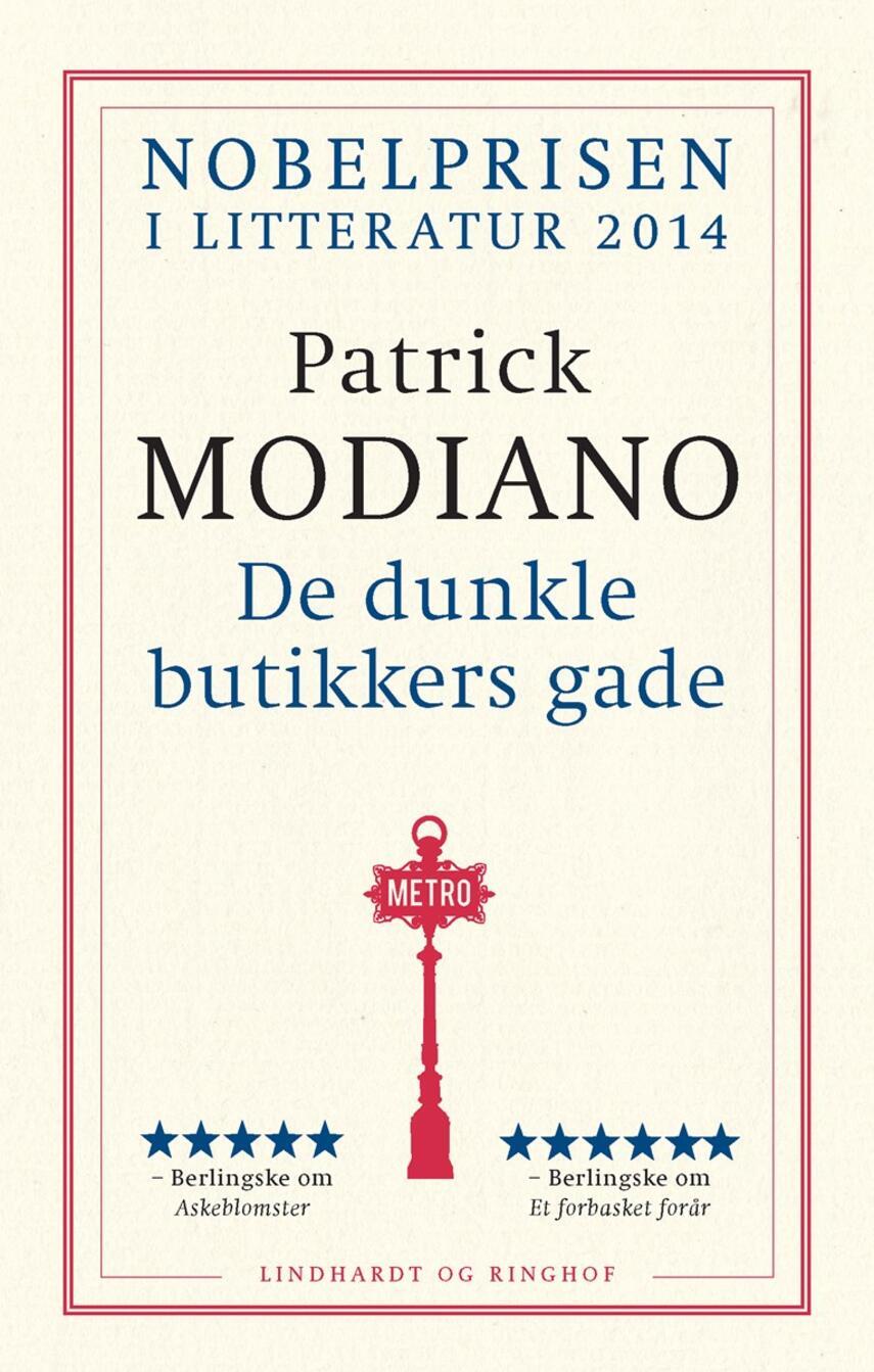 Patrick Modiano: De dunkle butikkers gade
