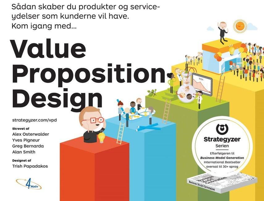 Alexander Osterwalder: Sådan skaber du produkter og serviceydelser som kunderne vil have, kom i gang med value proposition design