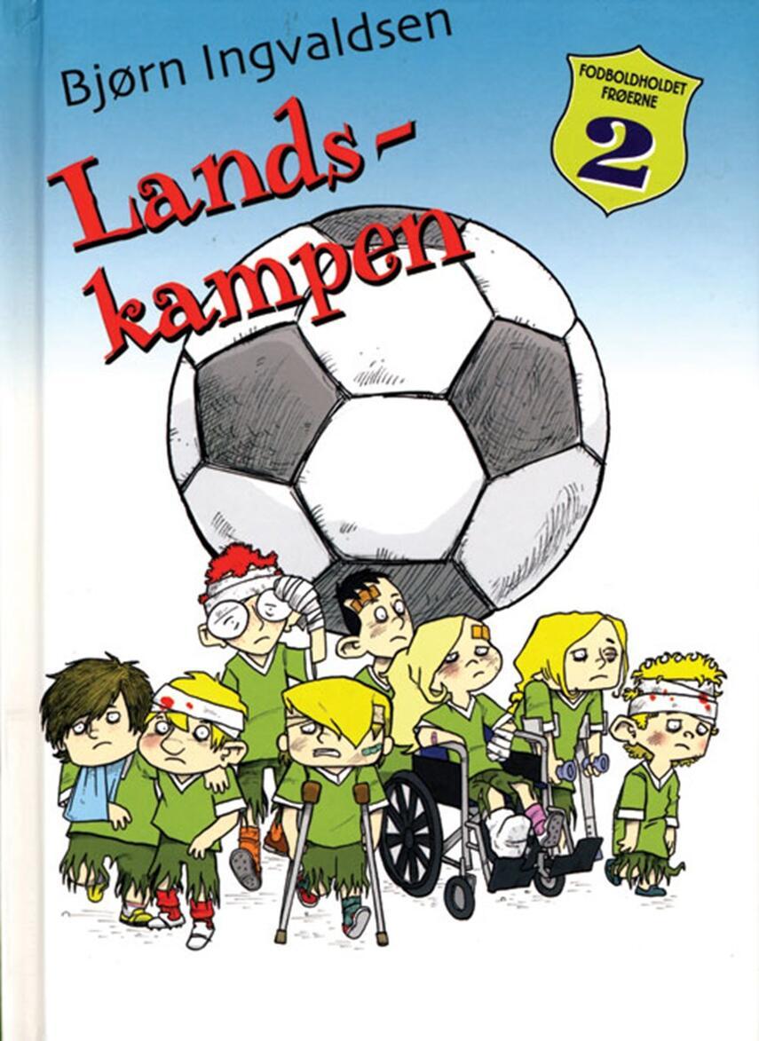 Bjørn Ingvaldsen: Landskampen